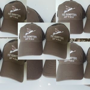 Lot of 10 baseball hats/caps The Hamptons - NWT